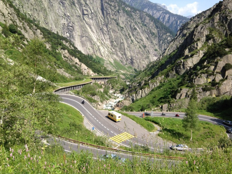 Bike to Andermatt