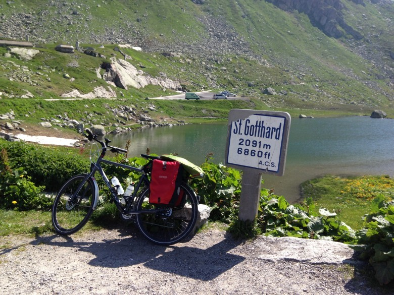 St. Gotthard Pass Cycling