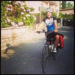 Cycling to Milano