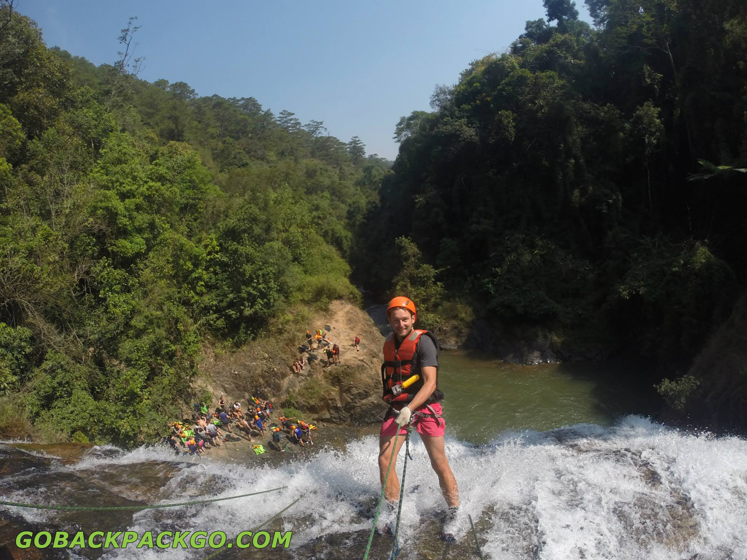 Fashion week Dalat canyoning what to wear for woman