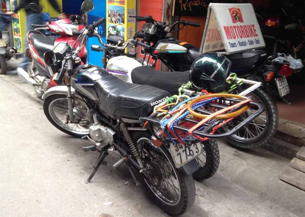 Bought my motorbike in Vietnam
