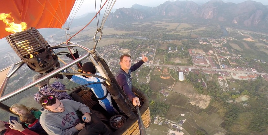 Hot Air Balloon Vang Vieng Laos
