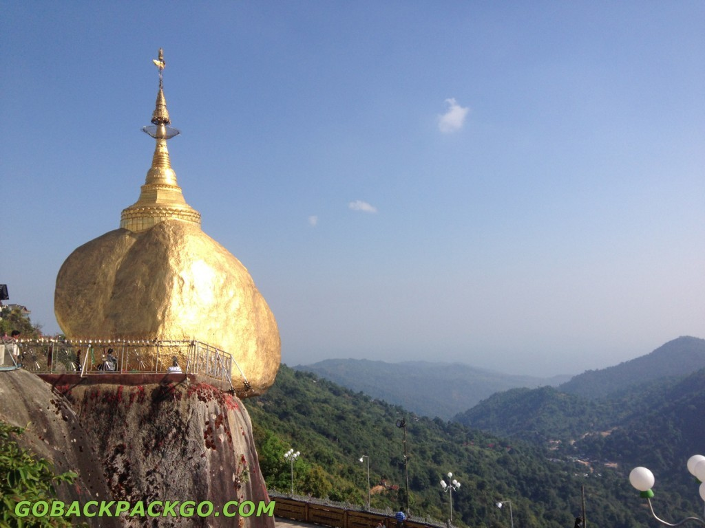 Golden Rock Myanmar