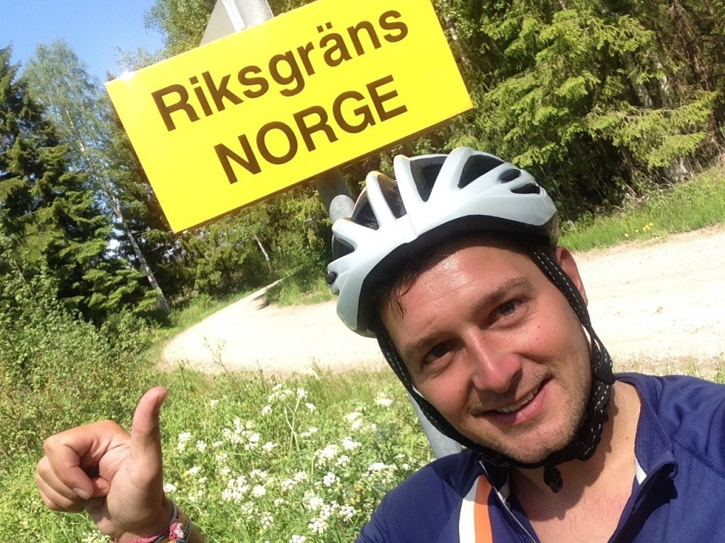 Cycling Stockholm to Oslo