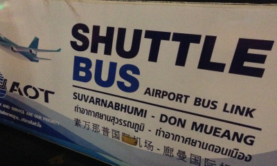 shuttle bus airport bangkok